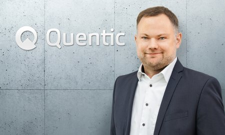 Photograph Markus Becker CEO Quentic